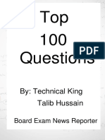 Top 100 question by Talib.pdf