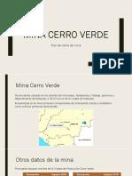 Mina Cerro Verde