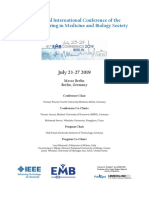 41st Annual International Conference of the IEEE Medicine