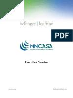 MN Coalition Against Sexual Assault - MNCASA - Executive Director