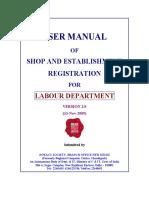 SHop Act Registration Manual