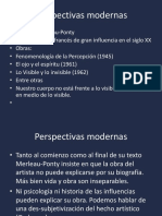Estética Comunicación Merleau- Ponty y Cézanne