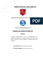 fundamentacion teorica de añalisis de propiedades del hormigon