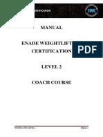 Manual Ewc