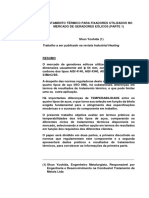 Tratamento Térmico Para Fixadores Utilizados No Mercado de Geradores Eólicos