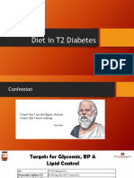 Diet in Diabetics