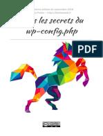 Tous Les Secrets Du Wp-config.php (08-2018)