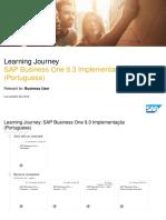 SAP Business One 9.3 Implementação (Portuguese)_Dec 2018