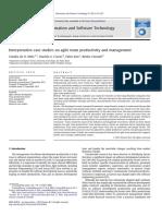 Interpretative Case Studies on Agile Team Produ 2013 Information and Softwar