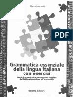 Grammatica Essenziale Della Lingua Italiana Con Esercizi1