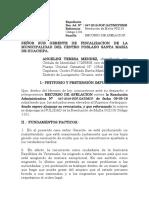 Carta judicial