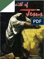 La Fe de Jesus en Ingles