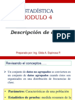 Modulo 4 Descripcion de Datos