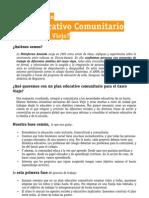 Plan Educativo Comunitario para el Casco Viejo