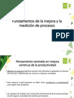 Tema 2 - Fundamentos de Medición Del Mejoramiento
