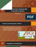 Inventarisasi Sarana Dan Prasarana Kantor
