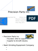 Precision Parts Inc