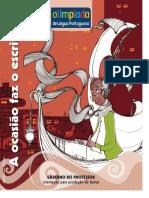 Olimpíada de Língua Portuguesa - Caderno Do Professor - Crônica