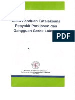 Buku Panduan Tatalaksana Penyakit Parkinson 2015
