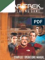 95387440 Star Trek RPG Starfleet Operations Manual