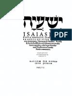 Isaias Pro Hebrew