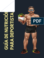 Guía de Nutrición Para Deportistas 2019