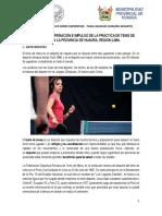 Proyecto Tenis de Mesa Huaura 2019 Ucss