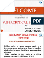 Super Critical Boiler