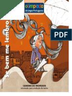 Olimpíada de Língua Portuguesa - Caderno Do Professor - Memorias