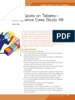 White Spots on Tablets
