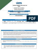 Programa de Fundamentos Del Currículo de La Educación Inicial (1)