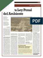 Modificaciones Ley Penal del Ambiente