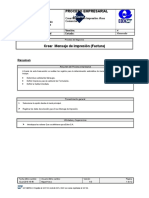 BPP-SD-VV31- Crear Mensaje de Impresion (Factura)