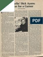 Dick Ayers - War for a Career