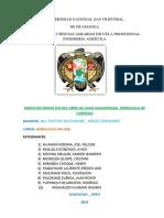 Informe Hidraulica Ejercicios Resueltos
