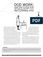 Hiv information relation with blood