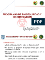 Bioseguridad y Biocontencion