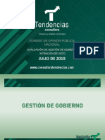 Tendencias Nacional Julio 2019