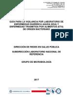 Guía INS Para La Vigilancia Por Laboratorio de EDA y ETA de Origen Bacteriano