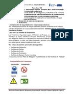 Clase N°6 de Ergonomia, Seguridad e Higiene (IES- UNI) 2019-1