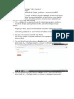 Estudo Dirigido Sobre a Utilização Do Google Acadêmico e as Normas Da ABNT