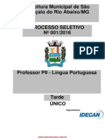 Professor Pii l Oongua Portuguesa