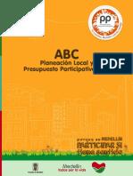 ABC Planeación local y presupuesto participativo