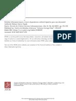 Estudios latinoamericanos y nueva dependencia cultural (apuntes para una discusión)