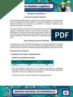 Evidencia 5 Taller Indicadores de Gestion Logistica (1)