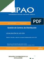 Localizacion CEDI