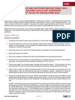 34 DuPont MECS Startup Shutdown Procedure for MET Plants Sulfuric Acid