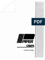 Piper Seneca I Information Manual
