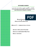 M03 - Communication Au Travail - HT-THR