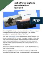 NFacebook Offered Big CNN